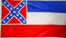 MISSISSIPPI CONFEDERATE - 5 X 3 FLAG